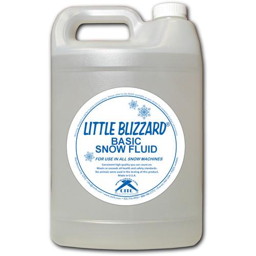 CITC Little Blizzard Snow Machine Fluid (Extra-Dry Concentrate 1/1, 1 Gallon)