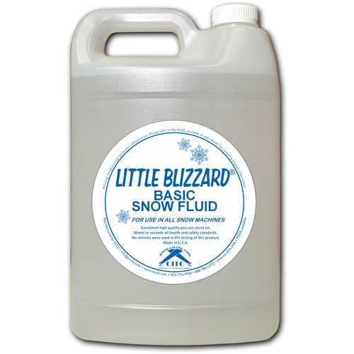 CITC Little Blizzard Snow Machine Fluid (Extra-Dry Concentrate 1/1, 1 Gallon)