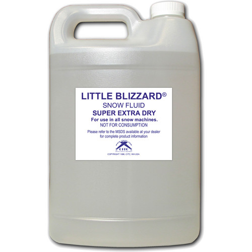 CITC Little Blizzard Super Extra Dry Snow Fluid (1 Gal)