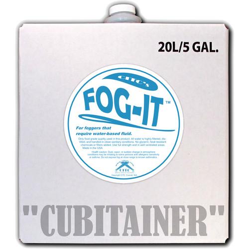 CITC SmartFog 15-Minute Fog Fluid (5 Gallons)