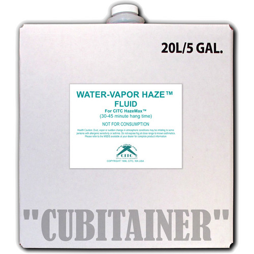 CITC Water Vapor Haze Fluid (5 Gallon, Cubitainer)