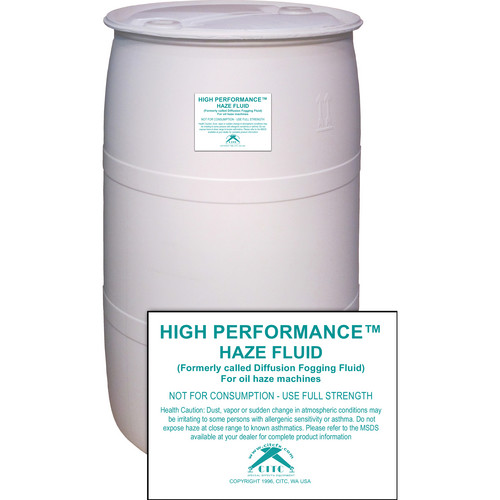 CITC Oil-Based Haze Machine Fluid (55 Gallons)