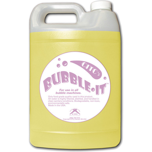 CITC Bubble-It Fluid (1 Gallon, Bottle)