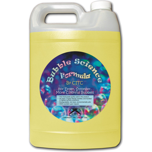 CITC Bubble Science Formula (1 Gallon, Bottle)