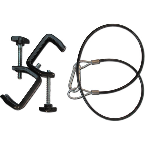 CITC 250120 Double C-Clamp with Safety Cable