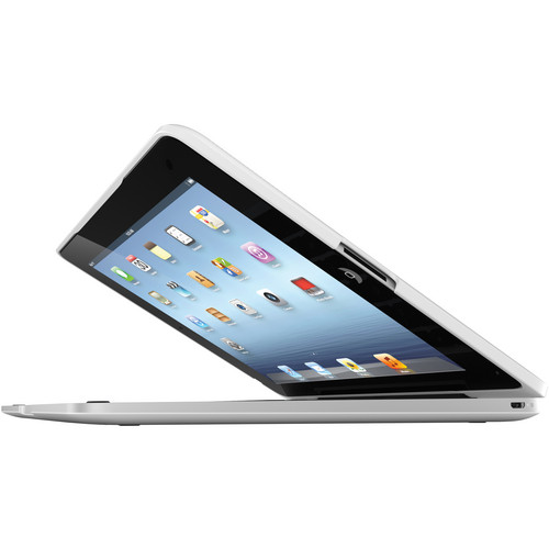 ClamCase ClamCase Pro for iPad Gen 2, 3, 4 (White / Silver)