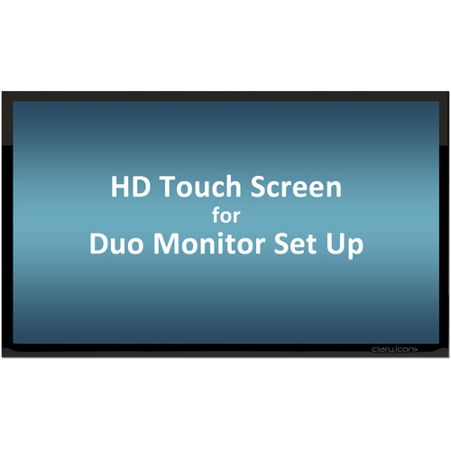 """ClaryIcon OneScreen 6-Point Touch Screen with Android OS & Keyboard (70"""", Full-HD)"""