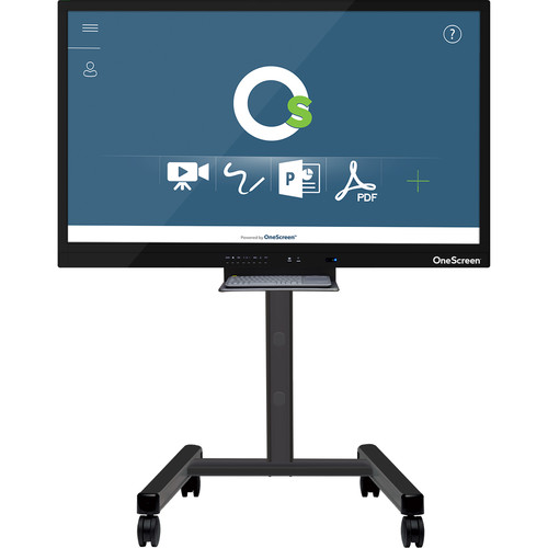 """ClaryIcon OneScreen 10-Point Touch Screen with Android OS & Keyboard (98"""", 4K)"""