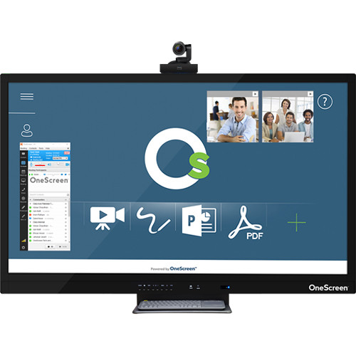 "ClaryIcon OneScreen Hubware Unified Video Conferencing & Collaboration Hub (65"")"