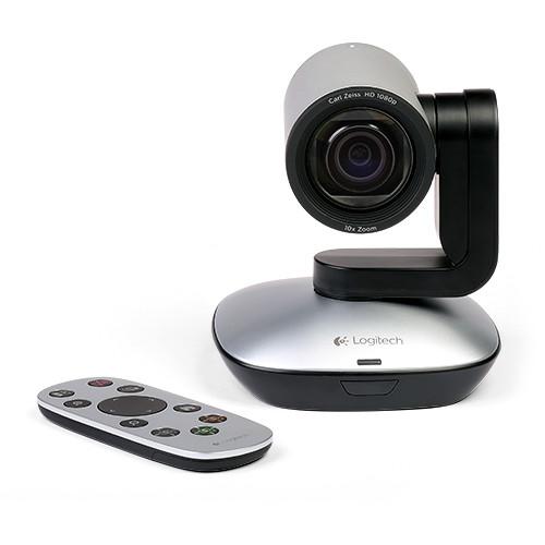 ClaryIcon Logitech PTZ Pro Standalone HD Video Camera for Enterprise-Grade Video Collaboration