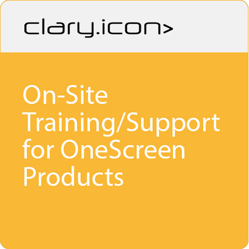 ClaryIcon On-Site Training/Support for OneScreen Products