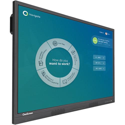 "OneScreen Solutions 86"" c5 Canvas Touchscreen Interactive Whiteboard"