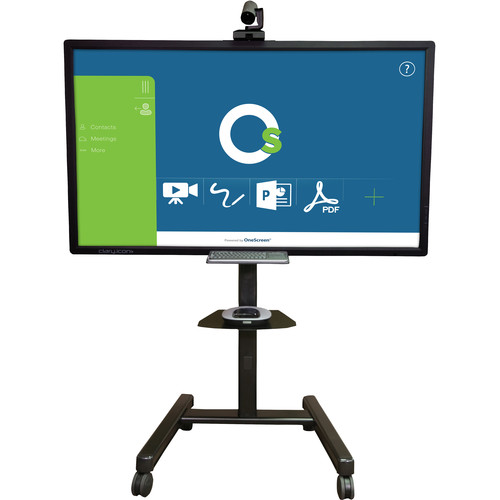 "ClaryIcon OneScreen All-in-One Collaboration Hub on 65"" Touch Screen"