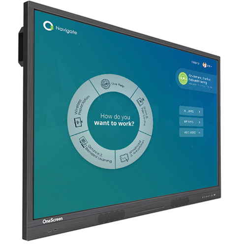 "OneScreen Solutions 65"" h5 Hubware Touchscreen All-in-One Collaboration Hub"