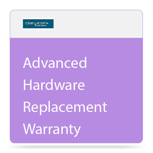 "ClaryIcon Advanced Hardware Replacement Warranty for 90"" Touch Screen"