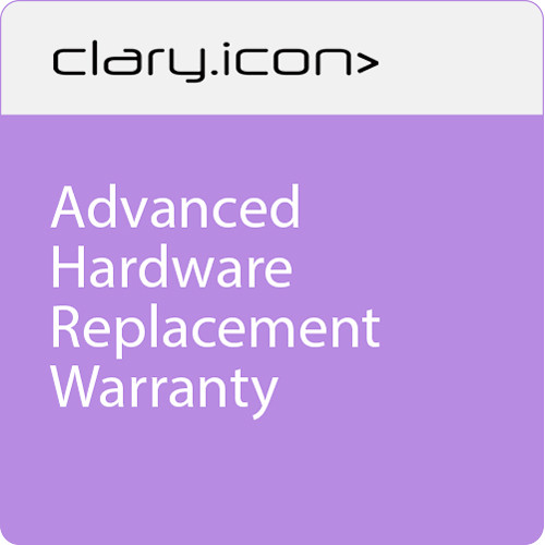"""ClaryIcon Advanced Hardware Replacement Warranty for 98"""" Touch Screen"""