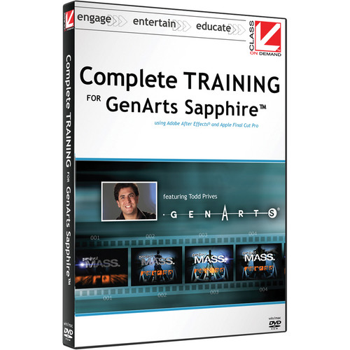 Class on Demand Video Download: Complete Training for GenArts Sapphire