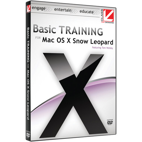 Class on Demand Video Download: Basic Training for Mac OS X Snow Leopard