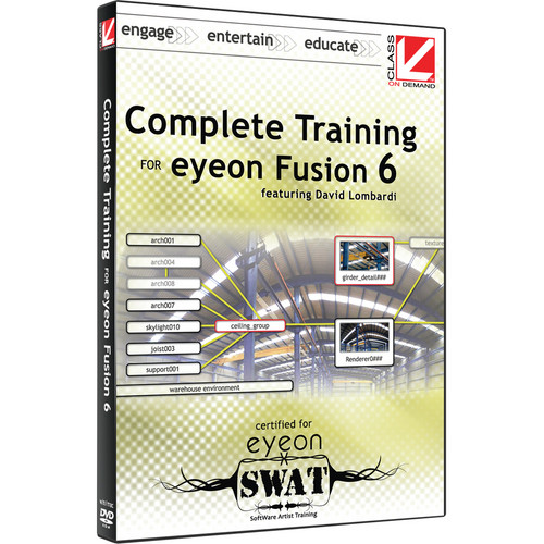 Class on Demand Video Download: Complete Training for eyeon Fusion 6