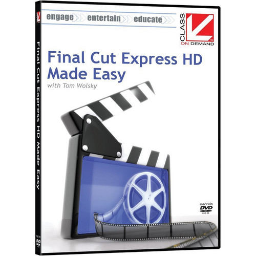 Class on Demand Video Download: Final Cut Express HD Made Easy