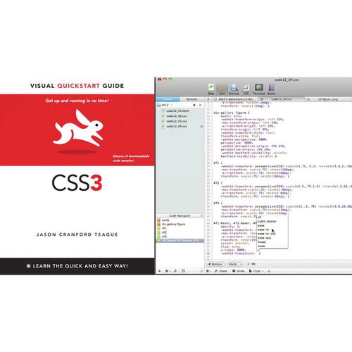 Class on Demand Video Download: CSS3: Video QuickStart Guide (Peachpit)