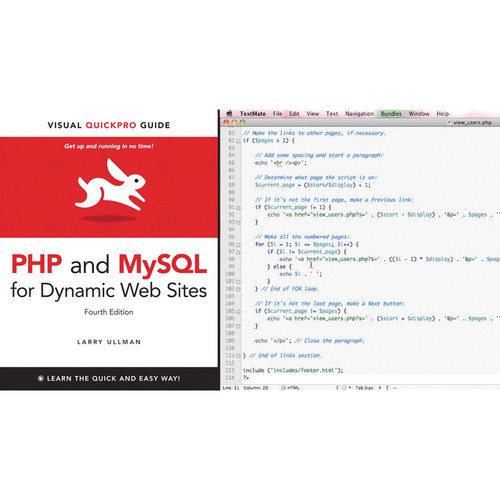 Class on Demand Video Download: PHP and MySQL for Dynamic Web Sites: Video QuickStart Guide (Peachpit)