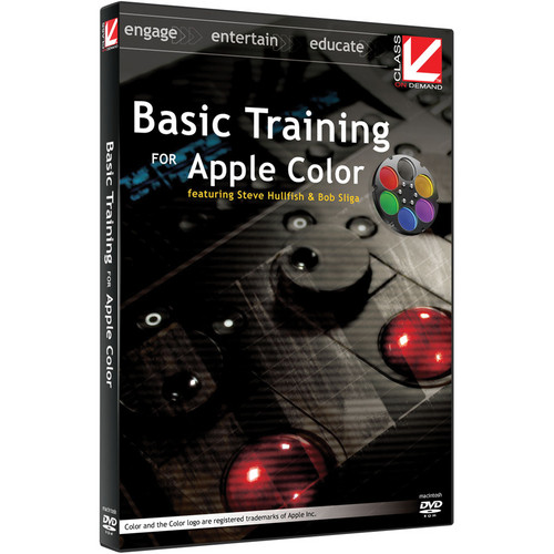 Class on Demand Training Video (Streaming On Demand): Basic Training for Apple Color