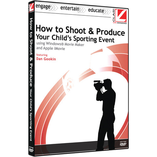 Class on Demand Online Training: How to Shoot & Produce Your Child's Sporting Event using Windows Movie Marker and Apple iMovie