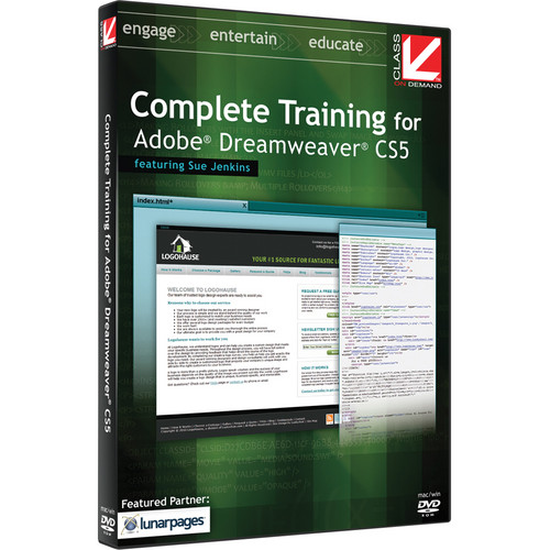 Class on Demand Video Download: Complete Training for Dreamweaver CS5