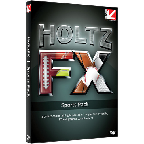 Class on Demand Training DVD: HoltzFX Sports Pack