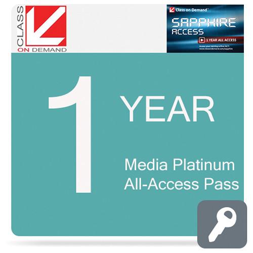 Class on Demand Media Sapphire 1-Year All-Access Pass