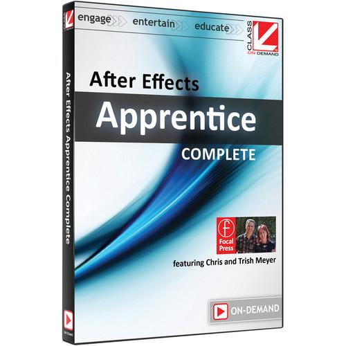 Class on Demand Video Download: After Effects Apprentice Complete Bundle (CS5 & CS6)