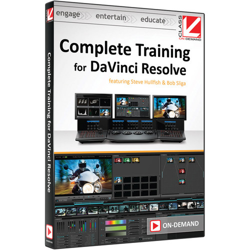 Class on Demand Training Video (Streaming On Demand): Complete Training for DaVinci Resolve