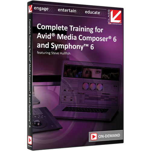 Class on Demand Video Download: Complete Training for Media Composer 6 and Symphony 6