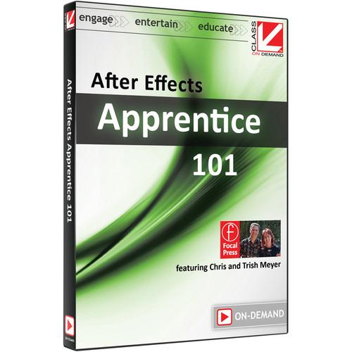 Class on Demand Video Download: After Effects Apprentice 101 (CS5 & CS6)