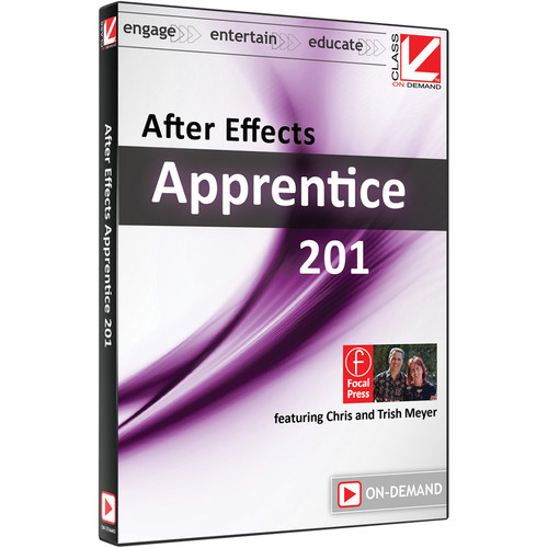Class on Demand Video Download: After Effects Apprentice 201 (CS5 & CS6)