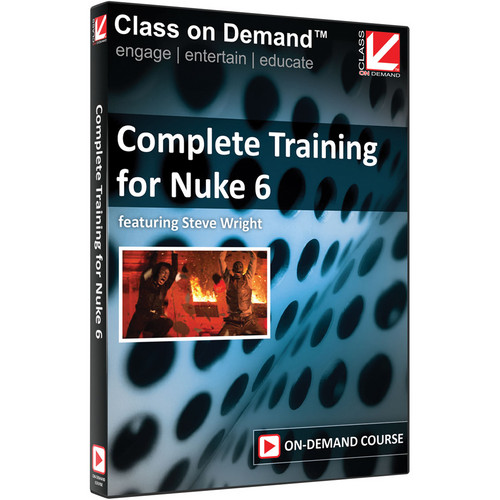 Class on Demand Training Video (Streaming On Demand): Complete Training for Nuke 6 (Beginner to Advanced)