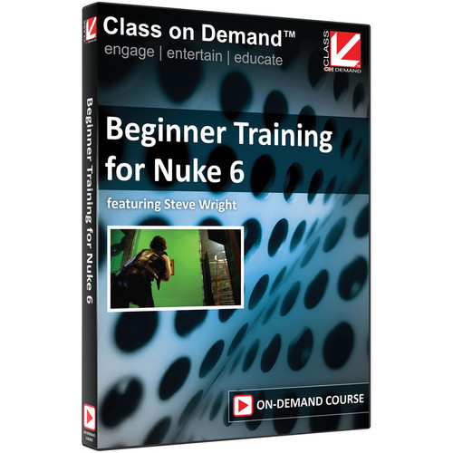 Class on Demand Video Download: Beginner Training for Nuke 6