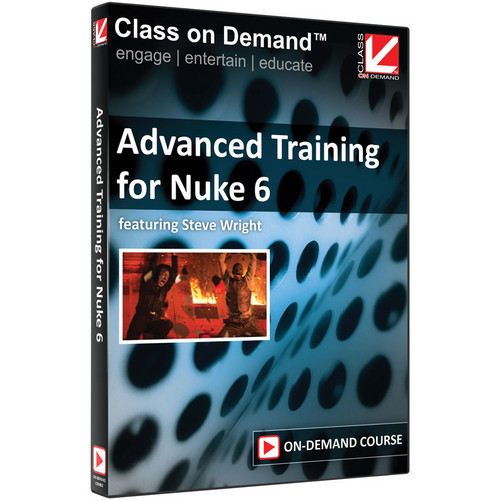 Class on Demand Training Video (Streaming On Demand): Advanced Training for Nuke 6
