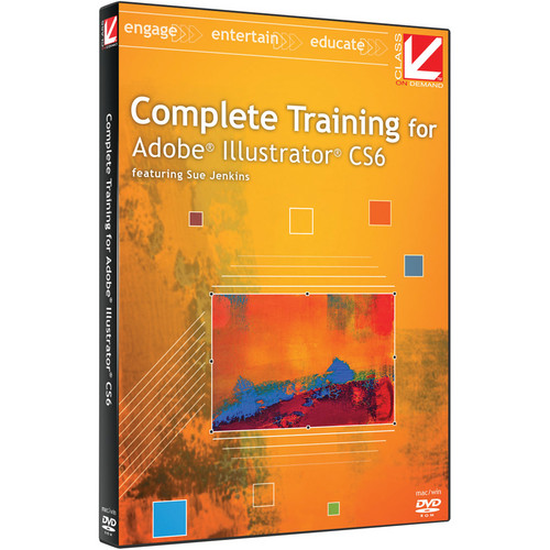 Class on Demand Video Download: Complete Training for Adobe Illustrator CS6