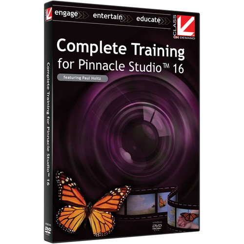 Class on Demand Video Download: Complete Training for Pinnacle Studio 16
