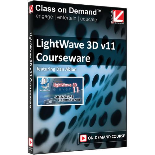 Class on Demand Training Video (Streaming On Demand): LightWave 3D v11 Courseware