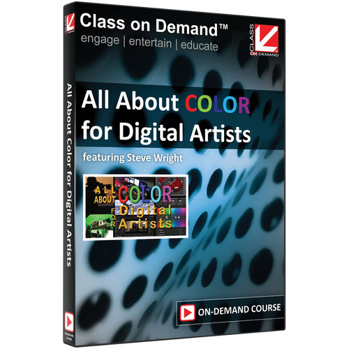 Class on Demand Video Download: Color for Digital Artists