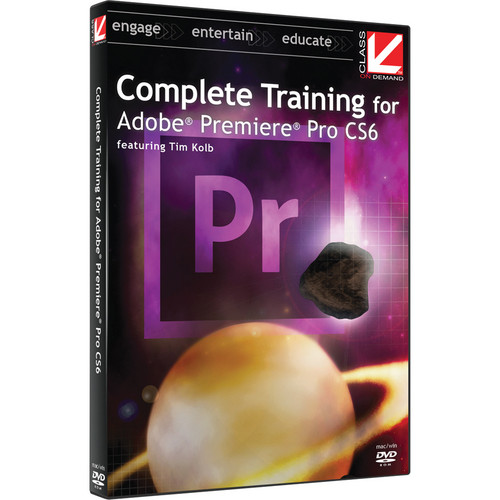 Class on Demand Instructional DVD: Complete Training for Adobe Premiere Pro CS6 and CC