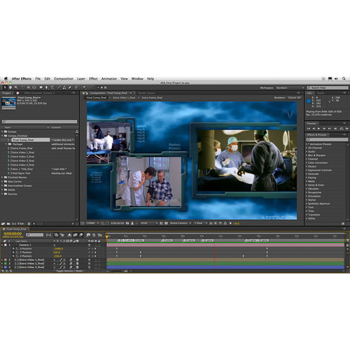 Class on Demand Online Tutorial: After Effects Apprentice 16: Final Project for CS5, CS6, & CC
