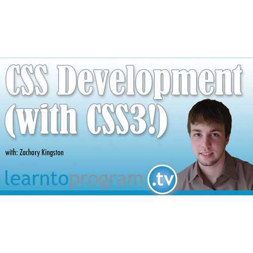 Class on Demand Video Download: CSS Development with CSS3 for Beginners