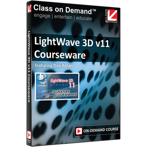 Class on Demand Video Download: LightWave 3D v11 Courseware
