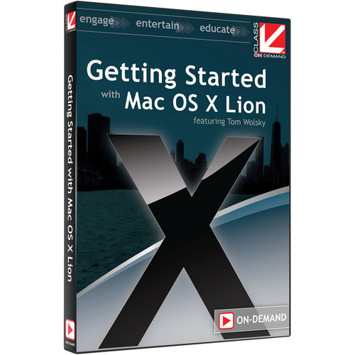 Class on Demand Training Video (Streaming On Demand): Getting Started with OS X Lion
