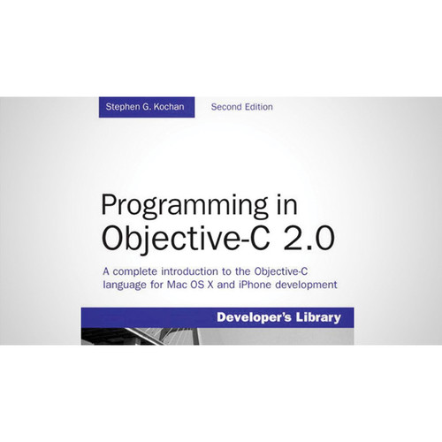 Class on Demand Video Download: Programming in Objective C 2.0 (Parts 1 & 2)