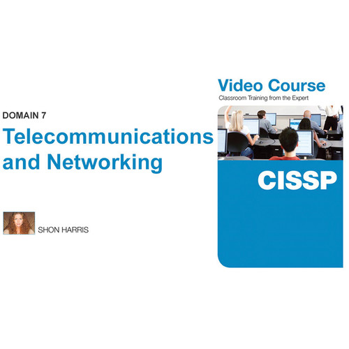Class on Demand Video Download: CISSP Video Course Domain 7-Telecommunications & Networking